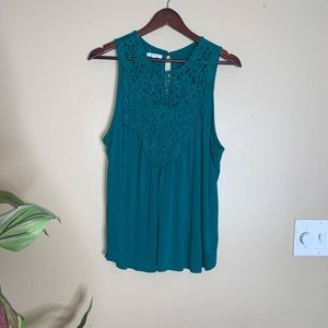 Maurices Teal Blouse